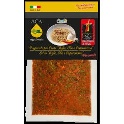 Condimento aglio olio e peperoncino piccante - ACA Srl