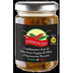 Condimento peperoncino sott'olio