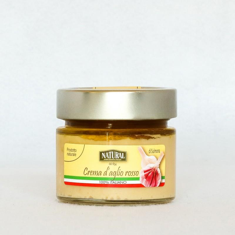 Crema di aglio rosso di Sulmona - Natural