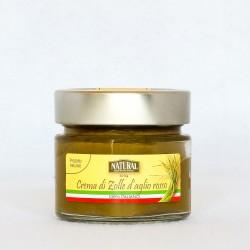 Crema di zolle d'aglio rosso di Sulmona - Natural