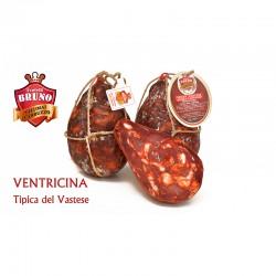 Ventricina tipica in vescica dolce (sottovuoto) da 1,2 Kg - F.lli Bruno
