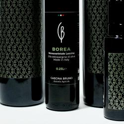 BOREA - Olio extravergine d'Oliva monovarietale Leccino - Cascina Bruno